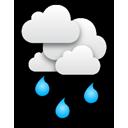 Pluie : La Tania