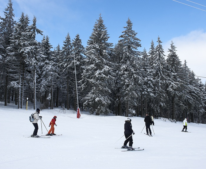 vvf orbey hiver station lac blanc alsace