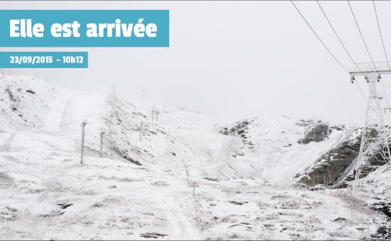 1er neige val thorens - actu