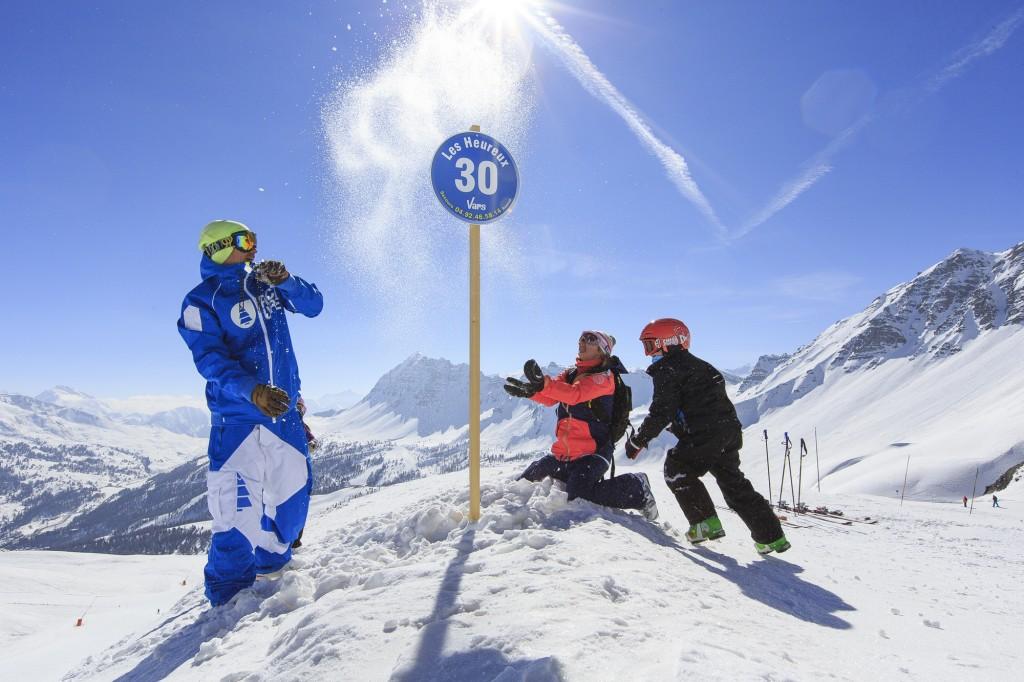 Vars ski en famille